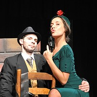 'Bonnie and Clyde' Plan a Bloody Heist at Matthews Playhouse