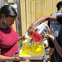Behailu Academy Brings Discussion Series to the Streets with New NoDa Mural