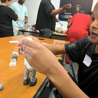 Gantt Center Workshop Series Introduces Kids to Arts and Technology