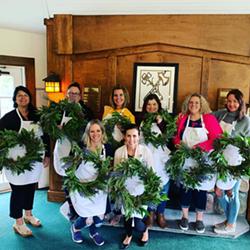 Spring Wreath Workshop - Uploaded by FlowerPowerGals