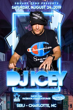 Square Pegs presents DJ ICEY - Uploaded by Julian Cortez