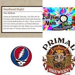 Deadhead Night at Primal Brewery - Uploaded by Bullfrog Moon