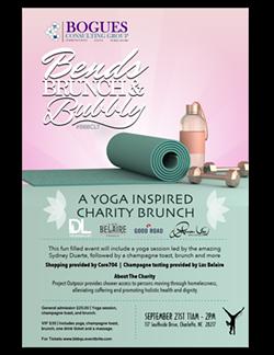 A YOGA INSPIRED CHARITY BRUNCH - Uploaded by Lauren K. Melton