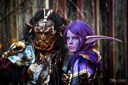 Sci-fi cosplay, DnD characters, and fantasy creatures are all welcome at CRF! - Uploaded by MarkAsst