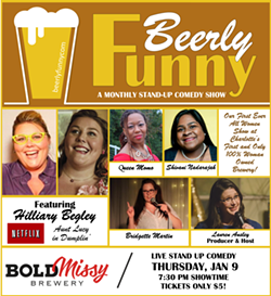 Beerly Funny Jan 9 Show Flyer - Uploaded by BeerlyFunny