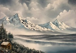 Snowy Mountains - Uploaded by James Sisk
