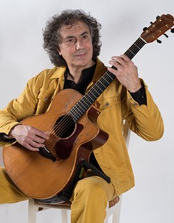 Pierre Bensusan, World Music Fingerstyle Guitarist - Uploaded by Lewis Media Relations