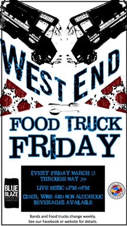 West End Food Truck Friday @ Blue Blaze Brewing - Uploaded by BlueBlazeEvents