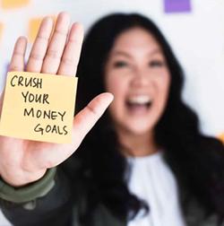 Crush Your Money Goals - Uploaded by callielanghorne