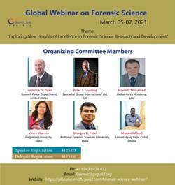 Global webinar on Forensic Science - Uploaded by SandyB