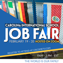 Carolina International School - Job Fair - Uploaded by CIScomets