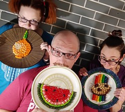Tabitha Judy, Strother Stingley, and Tippin star in Playing With Our Food - Uploaded by The Magnetic Theatre