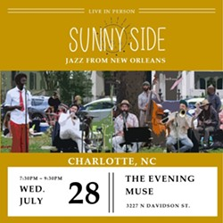 Sunny Side 7-Piece Jazz Band from New Orleans at The Evening Muse - Uploaded by Sunny Side