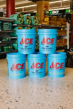 A $5 donation to Levine Children's Hospital is all it takes to score a special edition 5-gallon Miracle Bucket. - Uploaded by Norida