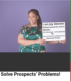 Powerful Native Doctor - Uploaded by akwete joy