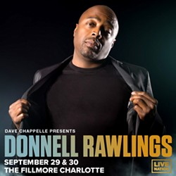 Dave Chappelle Presents: Donnell Rawlings at The Fillmore Charlotte on September 29-30 - Uploaded by Live Nation