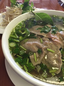 TRICIA CHILDRESS - A Southern Vietnamese variation of pho from Pho Cali.
