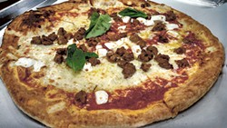 ALISON LEININGER - The Toscano pizza from Alino Pizzeria.