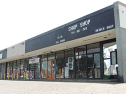 Chop Shop barbershop at 2023 Beatties Ford Road is one of two businesses named in a federal affidavit as being complicit in violations of federal drug laws.