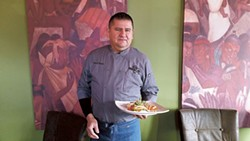 Chef Raul Ortegon at Mestizo (Photo by Anita Overcash)