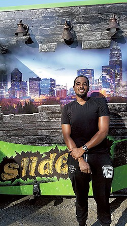 Chef DaRel Daniels of Street Spice (Photo by Anita Overcash)