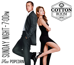 Movie Nights at The Cotton Room: Mr. & Mrs. Smith