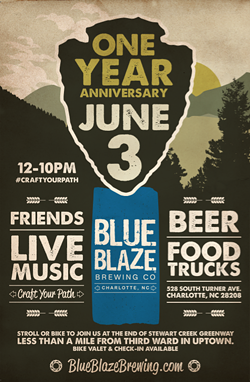 Blue Blaze 1 Year Anniversary