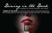 Upcoming: Dining in the Dark Event at Osso
