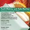 Upcoming: Sushi-making and sake tasting
