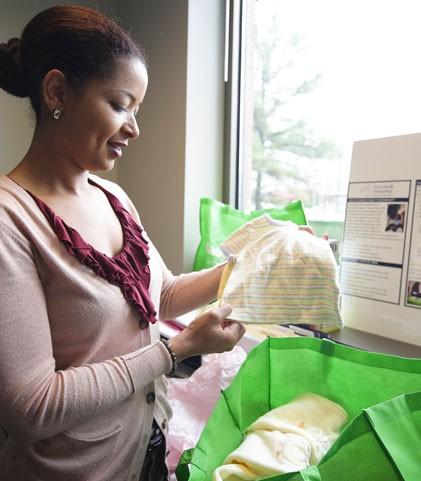 Ursula Douglas, program manager at Nurse-Family Partnership - PHOTOS BY MERT JONES