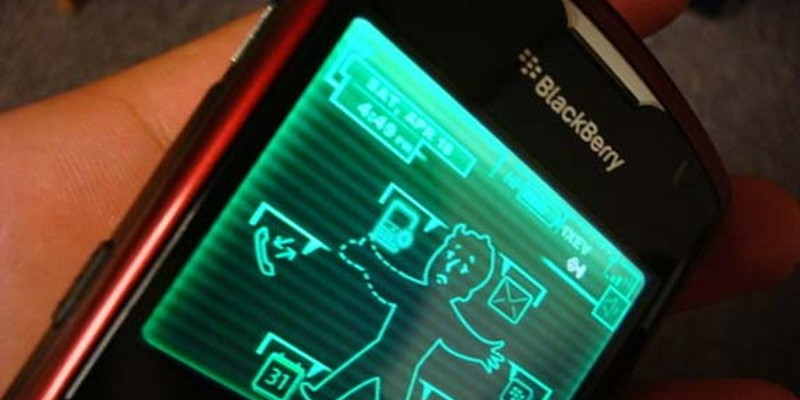 User-Created-Pip-Boy-3000-Blackberry-Theme