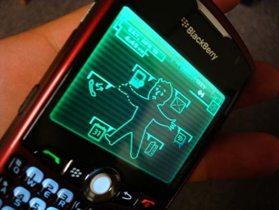 User-Created-Pip-Boy-3000-Blackberry-Theme