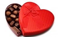 Feeling the love? It's just the chocolate