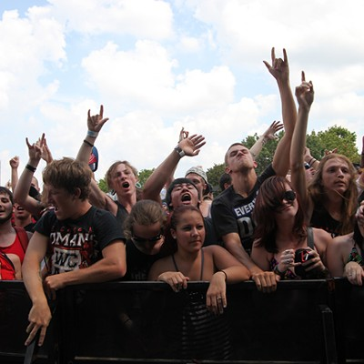 Vans Warped Tour in Charlotte, 7/30/12