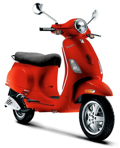 Vespa of Charlotte - Vespa Dragon Red. Avaliable in additional - colors such as Metallic Blue, Black, Yellow, Silver, and Capri Blue. Engine Size 8 from 50cc to 250cc. - Forty MPH to over 80 MPH. - 128 West Worthington Ave. Charlotte, N.C. 28203 - 704-373-7400. M-F 10am-6pm, - Sat 10am-4pm, Sun-Closed. - www.vespaofcharlotte.com - Credit Cards Accepted