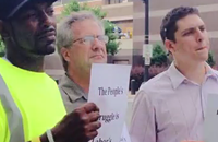 VIDEO: City workers protest tax 'reform' bill