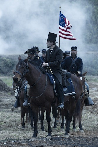 WAR HORSE: Steven Spielberg's Lincoln, headed toward Oscar victory ... or defeat - DREAMWORKS