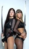 Warrior babes dressed to kill in      <b><i>Omega</i></b>