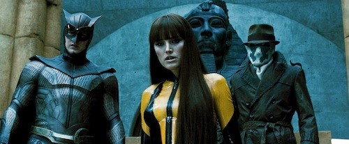 "Watchmen appears on several of the participants' ""10 Best"" lists."