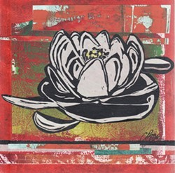 Water Lilly II by Caroline Brown
