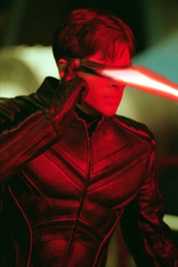 WHAT A BLAST Cyclops (James Marsden) shoots to - thrill in X2