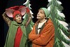 <p>WHEN THE CAT'S AWAY: (L-R) Nicia Carla and Mark Sutton star in Children's Theatre of Charlotte's production of <i>If You Take a Mouse to the Movies</i>. </p>