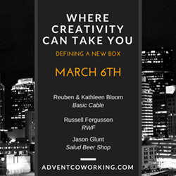 ADVENT COWORKING - Where Creativity Can Take You