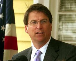 CHRIS RADOK - WHERE'S PAT?: McCrory's been campaigning across the state, but he says he hasn't neglected the mayor's office.