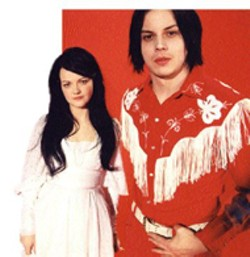 White Stripes at the Grady Cole Center on Tuesday