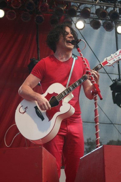 White Stripes (Bonnaroo, Manchester, Tenn., June 14-17)