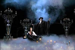 JOAN MARCUS - WHO WAS THAT MASKED MAN?: The Phantom of the Opera, of course.