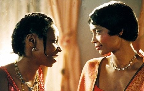 Whoopi Goldberg and Margaret Avery in The Color Purple