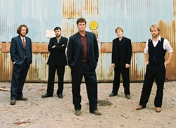 WHY SO SERIOUS?: Steep Canyon Rangers