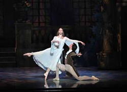 PETER ZAY - WIDE AWAKE: Traci Gilchrest and David Ingram in the NC Dance Theatre production of La Sonnambula.